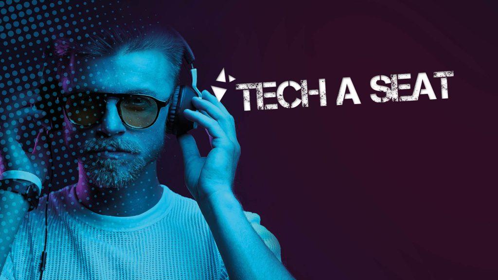 """Visuel d'illustration de notre série de podcasts by ALTEN : """"Tech a Seat"""""""